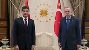 بارزانی محتوای دیدار با اردوغان را فاش کرد