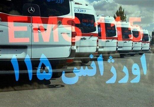 ۲۵ مصدوم و ۲ فوتی بر اثر واژگونی اتوبوس در آزادراه کرج به قزوین