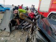 تصادف وحشتناک در محوریاسوج به شیراز