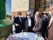بازدید معاون رییسجمهور از نمایشگاه محصولات فناوری و دانشبنیان آذربابجانغربی