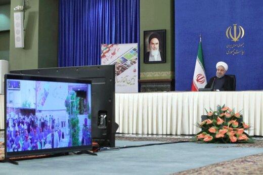 الرئيس روحاني : لاتعارض بين الصحة والتعليم