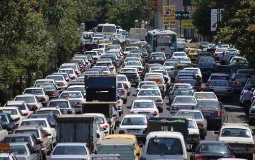 تردد روان در محورهای شمالی و ترافیک سنگین در ورودی پایتخت