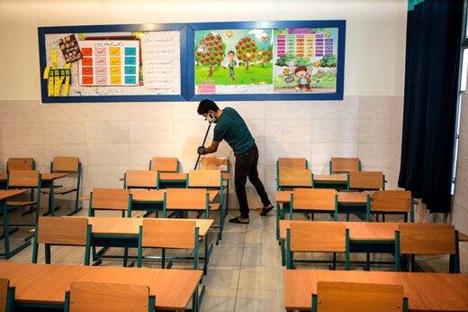 ببینید | راهکار جالب قطریها برای جلوگیری از شیوع کرونا در مدارس