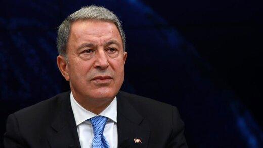 پیشنهاد وزیر دفاع ترکیه درباره جنگ قرهباغ: ارمنستان باید عقب بکشد