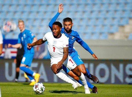 برد دراماتیک انگلیس مقابل ایسلند