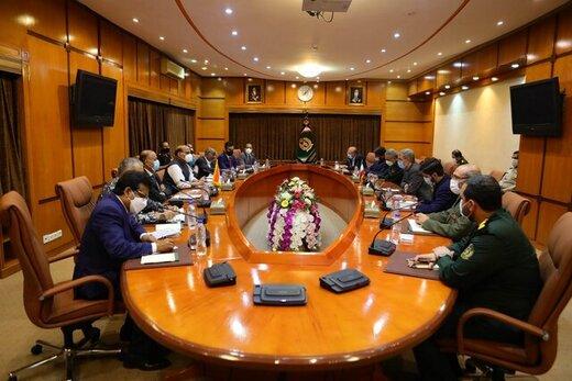 دیدار وزرای دفاع ایران و هند