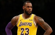رکورد شکنی لبران جیمز در NBA