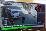 ببینید | حمله اراذل و اوباش با قمه به بنگاهدار محل
