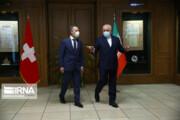تصاویر | دیدار وزیران خارجه ایران و سوییس