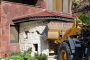 ببینید | خانههای باستیهیلز کرج تخریب شد