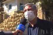 ببینید | ترسیدن معاون عمرانی استانداری گلستان از وقوع زمین لرزه هنگام مصاحبه