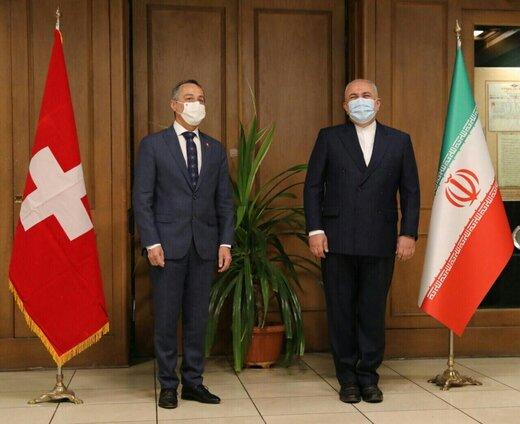 در دیدار ظریف با همتای سوئیسی چه گذشت و چه مسائلی مطرح شد؟