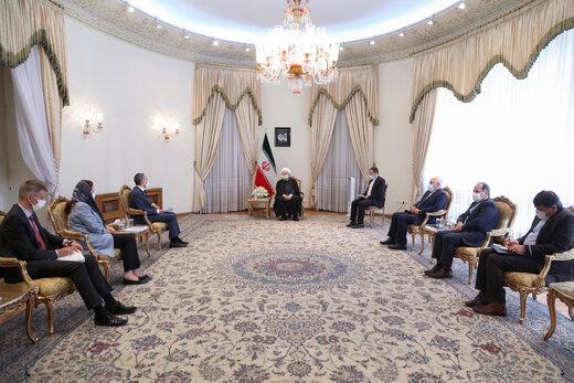 روحاني : ايران لن تخضع الى غطرسة وبلطجة اي قوة في العالم