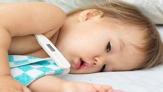 کدام بیماریها در کودکان با تب بروز میکنند؟