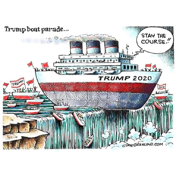 اینم عاقبت ترامپ و طرفدارانش!