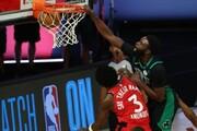 مدافع قهرمانی NBA در آستانه حذف از مسابقات