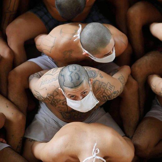 شرایط غیربهداشتی زندان ها در السالوادو