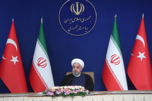 Rouhani: Iran, Turkey to boost mutual cooperation to reveal enemies' plots
