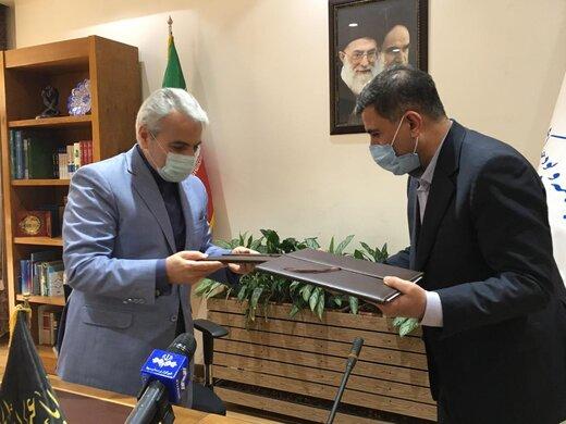 امضای تفاهمنامه تکمیل ۲۵ پروژه البرز بین سازمان برنامه و بودجه کشور و استانداری البرز