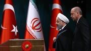 پیام حسن روحانی به اردوغان