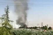 ببینید | آتشسوزی انبار لاستیکهای فرسوده در جاده ملارد