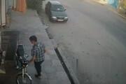 ببینید | لحظه سرقت یک موتورسیکلت در اهواز در چند ثانیه
