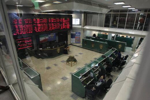 بورس در آغاز معاملات اموز سبزپوش شد