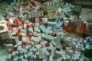 ببینید | پلمپ انبار بزرگ دارو و کالاهای پزشکی تقلبی در شورآباد