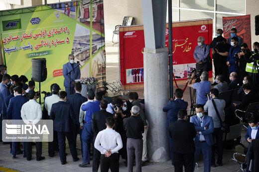 افتتاح قطار زندگی مسیر ریلی رشت – مشهد