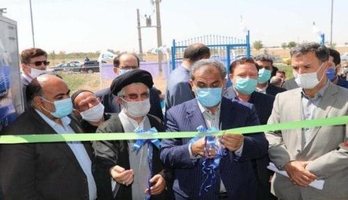 افتتاح ۶پروژه تامین آب آشامیدنی با اعتبار ۴۹میلیارد ریال در قزوین
