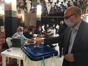 سایه سنگین کرونا بر سر انتخابات مجلس +عکس