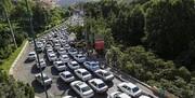 ترافیک سنگین در ۳ جاده تهران-شمال