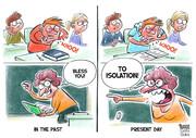 ببینید: عطسه کردن در مدرسه، قبل و بعد از کرونا!