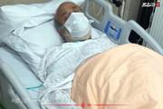 ببینید | تصویری جدید از استاد حسین انصاریان روی تخت بیمارستان