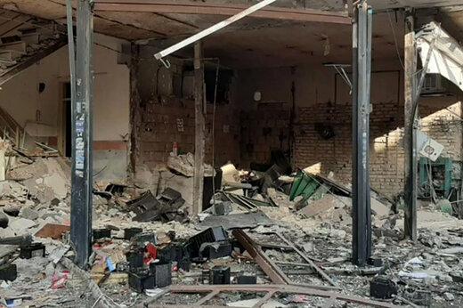 ببینید | تصاویری از محل انفجار در نسیمشهر تهران