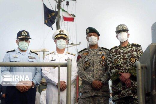 نمایش اقتدار یگان های شناور ارتش جمهوری اسلامی ایران