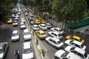 ترافیک شدید در ورودی غرب تهران حوالی «قلعه حسنخان»