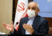 قدردانی وزیر آموزش و پرورش از اسماعیل آذری نژاد/ عکس