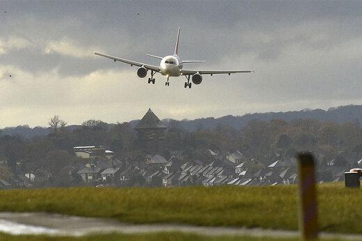 فرود اضطراری ایرباس هواپیمایی معراج در فرودگاه مهرآباد
