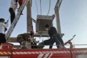 ببینید | صحنه دلخراش خشک شدن دزد کابل برق در تهران