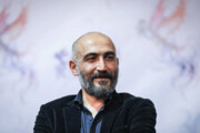 عکس   گریم هادی حجازیفر در نقش شهید مهدی باکری