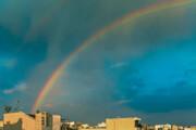 عکس | آسمان تهران هفت رنگ شد