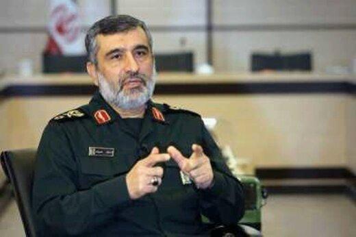 شهرهای موشکی سپاه قابل شناسایی است؟ /اظهارات مهم سردار حاجی زاده ازقدرت موشکی ایران