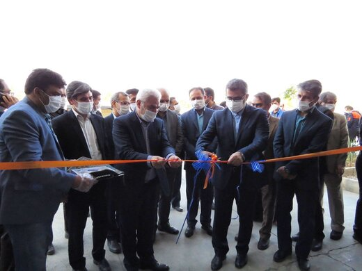 افتتاح شرکت گیتی تامین صنعت در سمنان با حضور معاونین وزرای کشور و صمت
