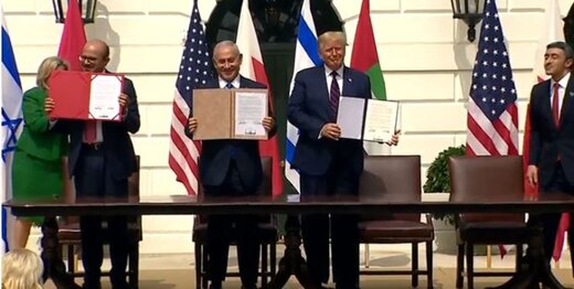 توافق سازش بین اسرائیل با امارات و بحرین امضا شد