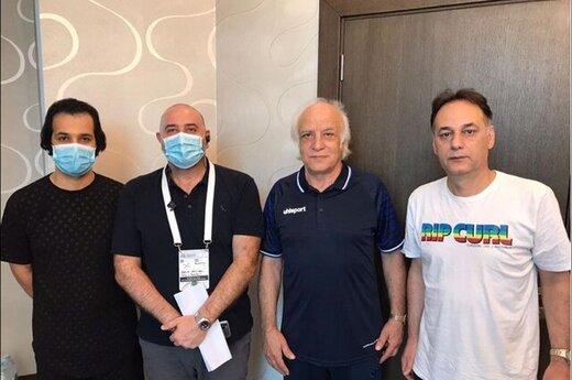 جلسه کادر فنی استقلال با مسئولان AFC