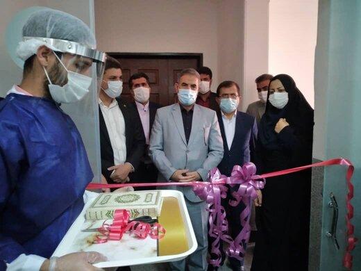 افتتاح کارگاه تولید ماسک سه لایه در کهگیلویه و بویراحمد