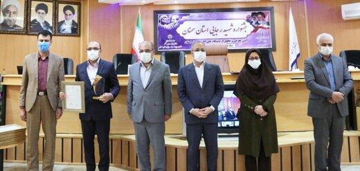 رتبه برتر شرکت توزیع نیروی برق استان سمنان در مجموع شاخص های عمومی و اختصاصی