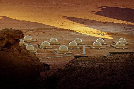 ببینید | هتل صحرایی در اردن!