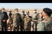ببینید |  رجزخوانی شیرمرد ارتشی